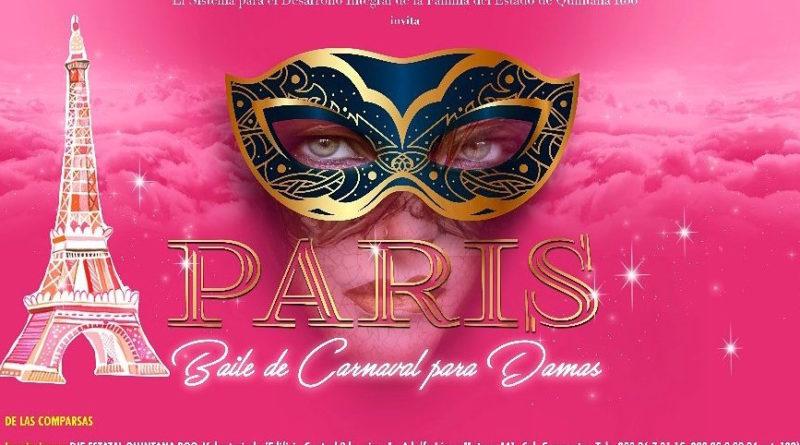 Paris Baile De Carnaval Para Damas En Chetumal Dif