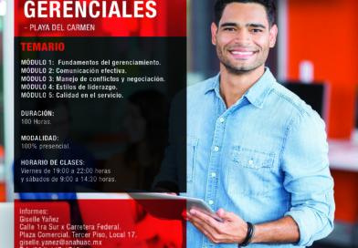Diplomado en Habilidades Gerenciales en Playa del Carmen, Quintana Roo