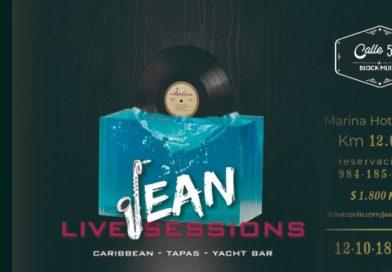 The Jean Live Sessions es una plataforma de artistas residentes y talentos emergentes que busca elevar el nivel de la música en la Riviera Maya a bordo de un icónico Caribbean Tapas Yacht Bar