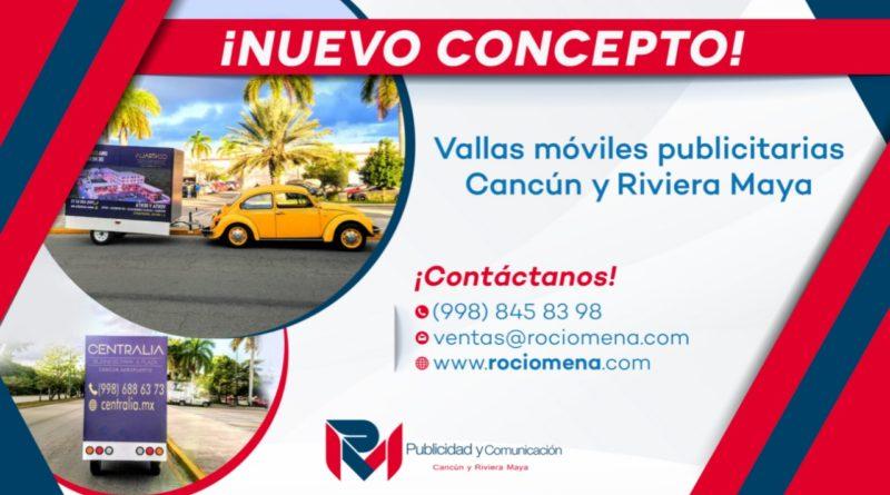 Vallas Móviles Publicitarias Cancun y Riviera Maya