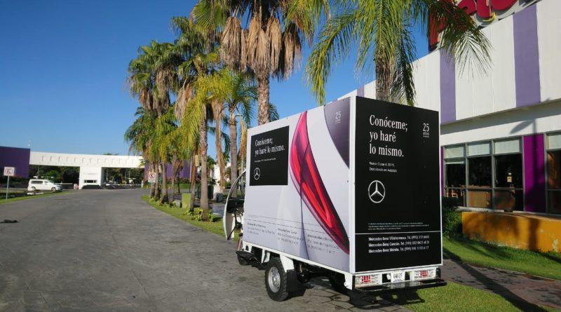 Contrata Vallas Móviles en Cancun