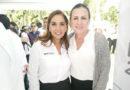 Mara Lezama Presidente Municipal del Municipio de Benito Juárez, entrega de Patrullas para la Secretaría de Seguridad Pública en el Asta Bandera de la Zona Hotelera, Km 5 en Cancún Quintana Roo