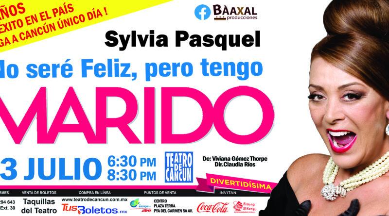 Sylvia Pasquel en Cancún 23 de Julio 2019.