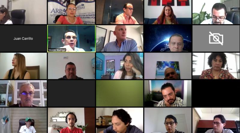 Ho se presentó la campaña Come2MexicanCaribbean de manera virtual en vivo desde la plataforma zoom y facebook live.