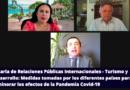 Charla de  Relaciones Públicas Internacionales: Turismo y Desarrollo