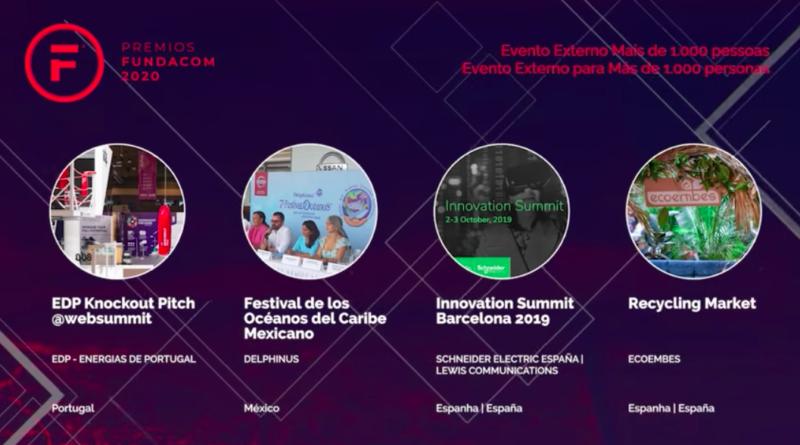 Premios Fundacom 2020 en su 4ta Edición.