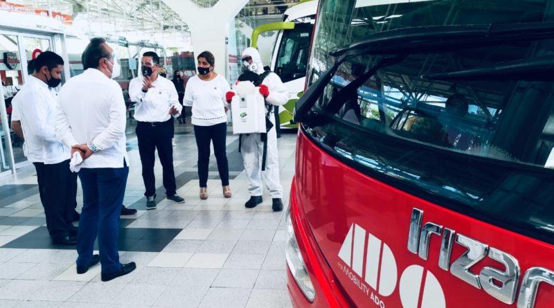 Reactivar al turismo en Quintana Roo desde una movilidad con conciencia, objetivo de la terminales de autobuses ADO