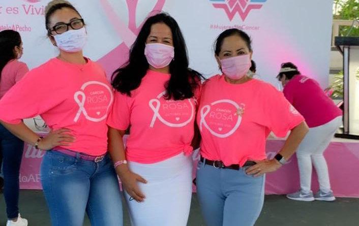 Amexme Cancún se une al mes de la sensibilización contra el cáncer de mama.