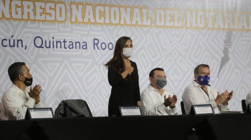 REFLEJA CONGRESO DEL NOTARIADO MEXICANO REACTIVACIÓN DE CANCÚN