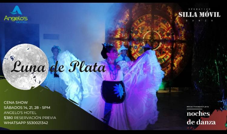 Luna de Plata en Hotel Angelo´s en Playa del Carmen