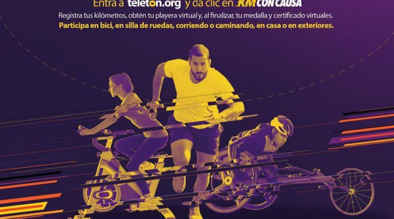 Carrera virtual con causa, del 27 de noviembre al 5 de noviembre 2020. Crit Cancun